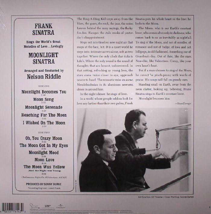 SINATRA, Frank - Moonlight Sinatra (remastered)