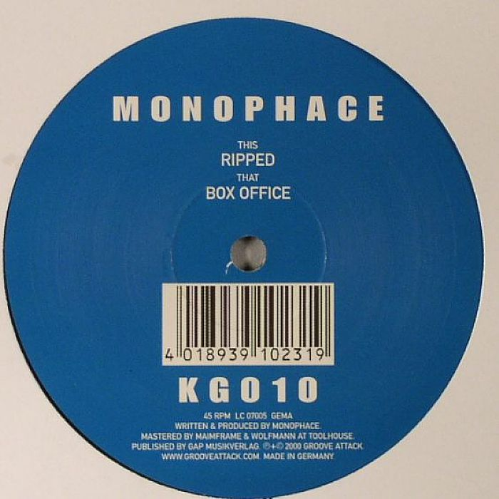 MONOPHACE - Ripped/Box Office