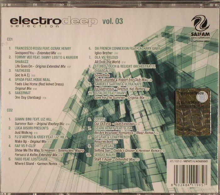 VARIOUS - Electro Deep Selection Vol 3
