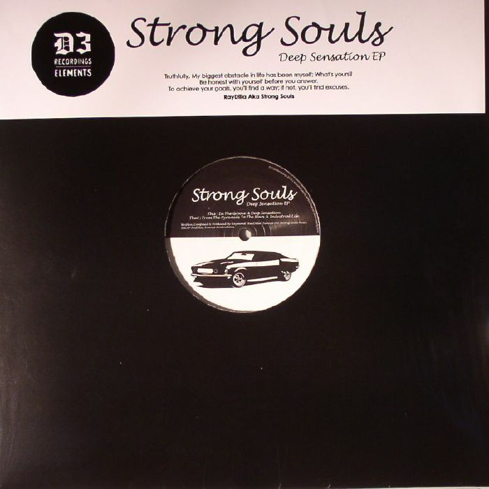 STRONG SOULS - Deep Sensation EP