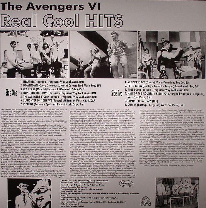 AVENGERS VI - Real Cool Hits