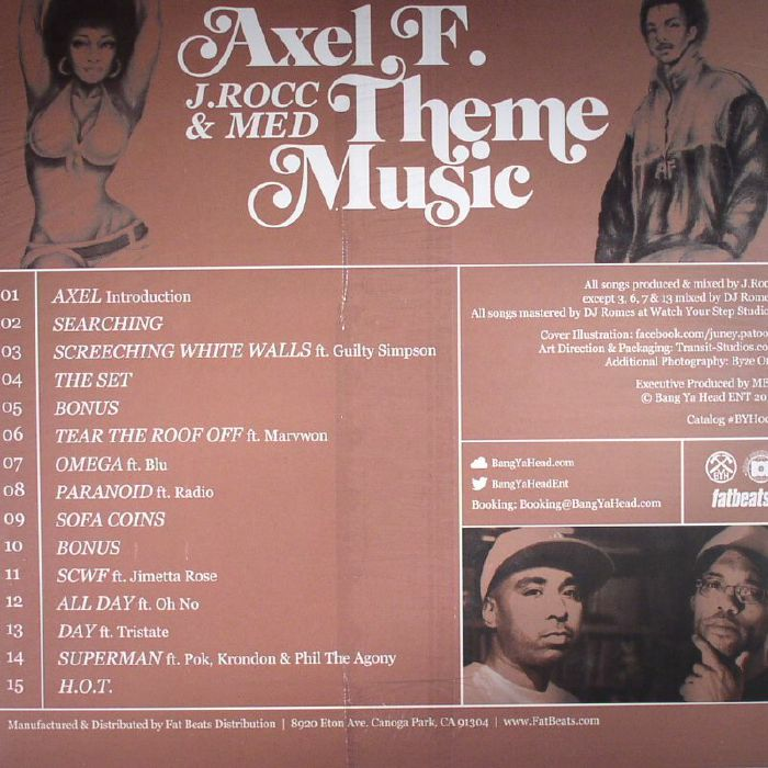 J ROCC/MED present AXEL F - Theme Music