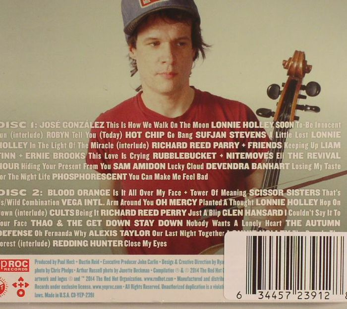 VARIOUS - Master Mix: Red Hot & Arthur Russell