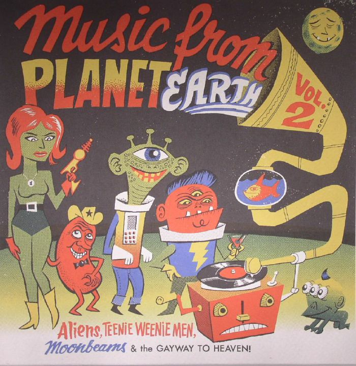 VARIOUS - Music From Planet Earth Vol 2