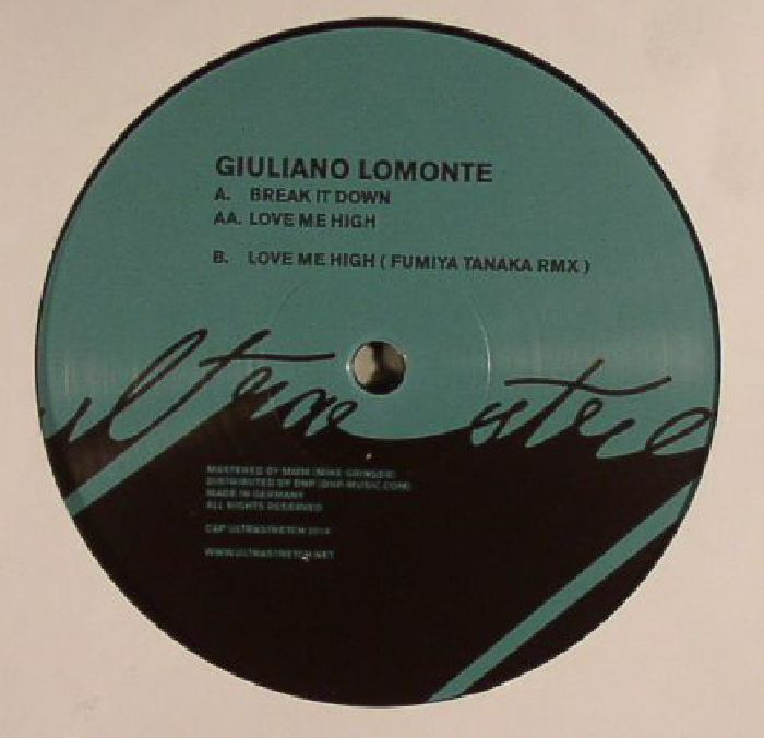 LOMONTE, Giuliano - Break It Down