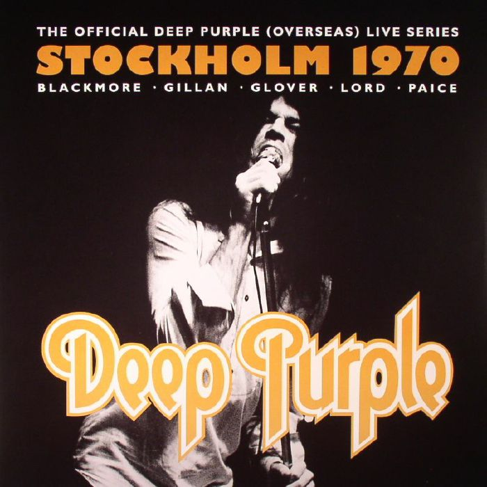 Deep Purple Live In Stockholm 1970 Vinyl At Juno Records