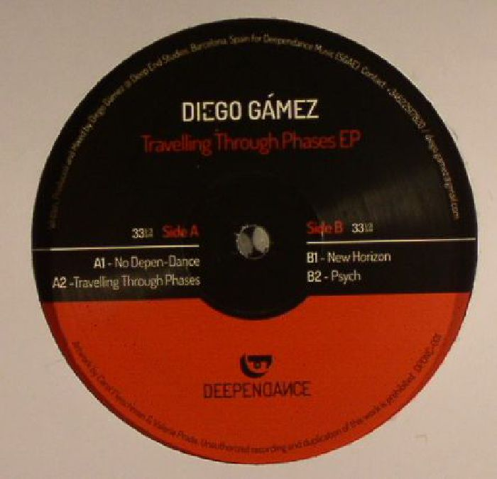 GAMEZ, Diego - Travelling Through Phases EP