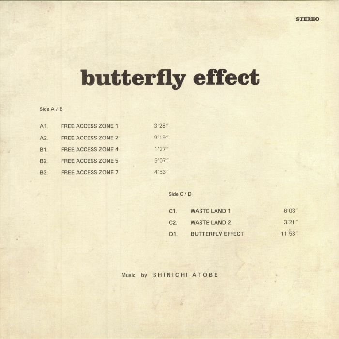 ATOBE, Shinichi - Butterfly Effect