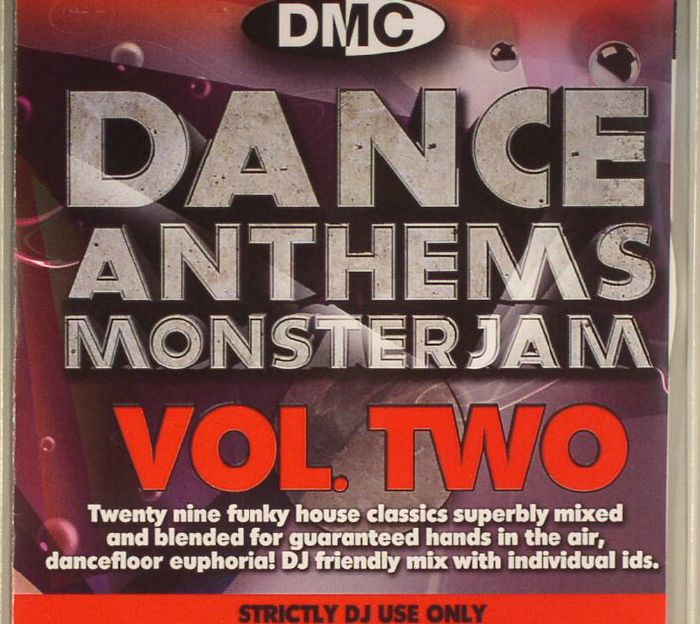 VARIOUS - Dance Anthems Monsterjam Vol 2 (Strictly DJ Only)