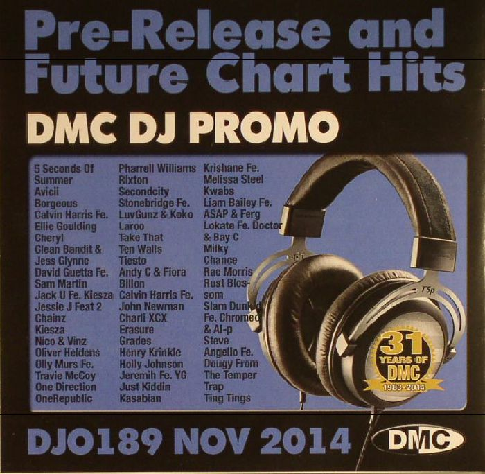 VARIOUS - DJ Promo DJO 189: Nov 2014 (Strictly DJ Use Only) (Pre Release & Future Chart Hits)