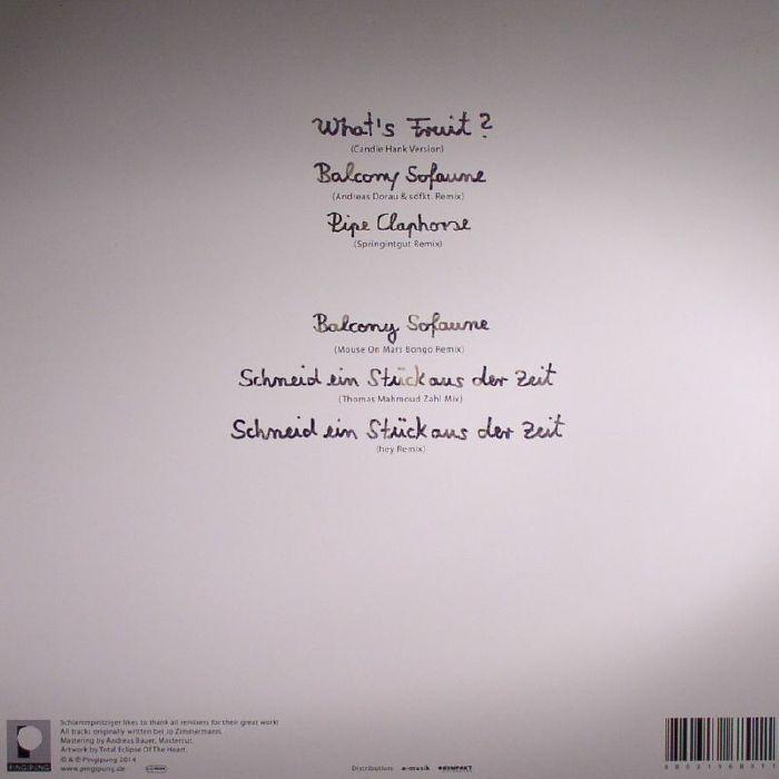 SCHLAMMPEITZIGER - What's Fruit? Remixes