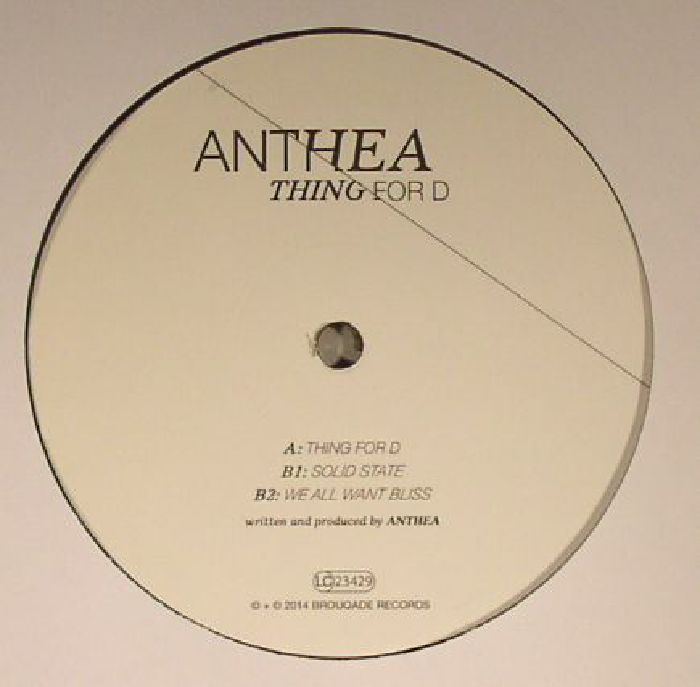 ANTHEA - Thing For D