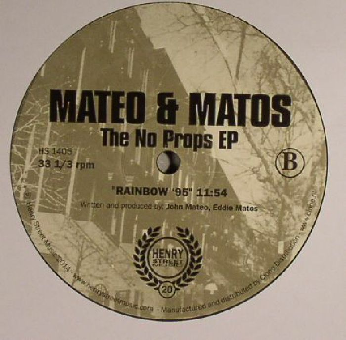 MATEO & MATOS - The No Props EP