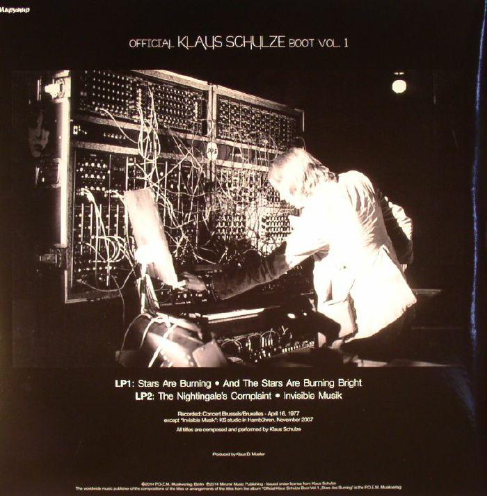 SCHULZE, Klaus - Official Klaus Schulze Boot Vol 1: Stars Are Burning