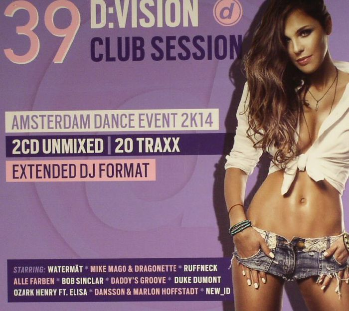 VARIOUS - D:Vision Club Session 39: Amsterdam Dance Event 2K14