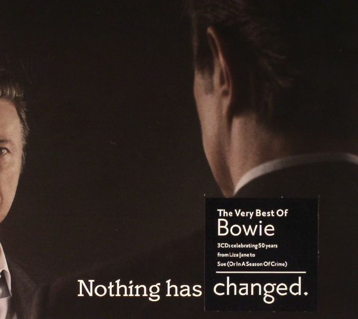 David BOWIE Nothing Has Changed: The Very Best Of Bowie ...