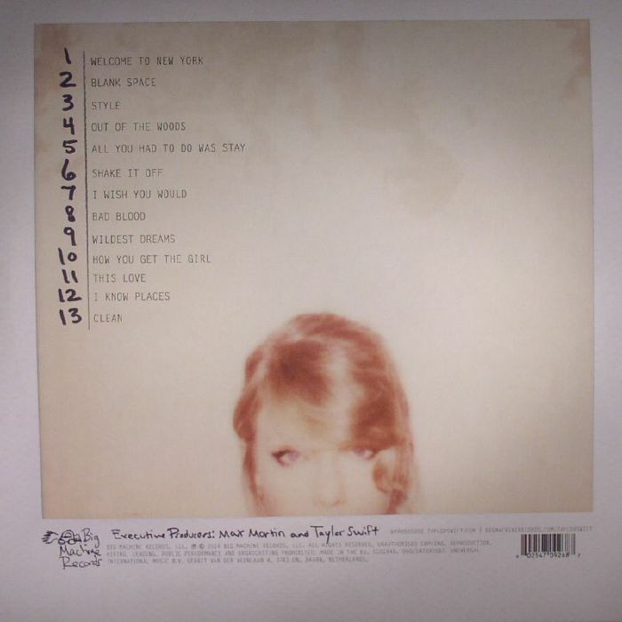SWIFT, Taylor - 1989
