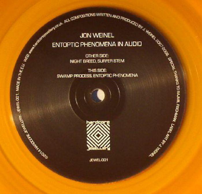 WEINEL, Jon - Entoptic Phenomena In Audio
