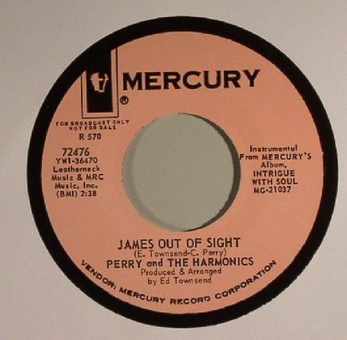 PERRY & THE HARMONICS - Do The Monkey With James