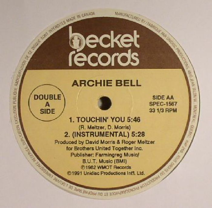 BELL, Archie - Anytime Is Right