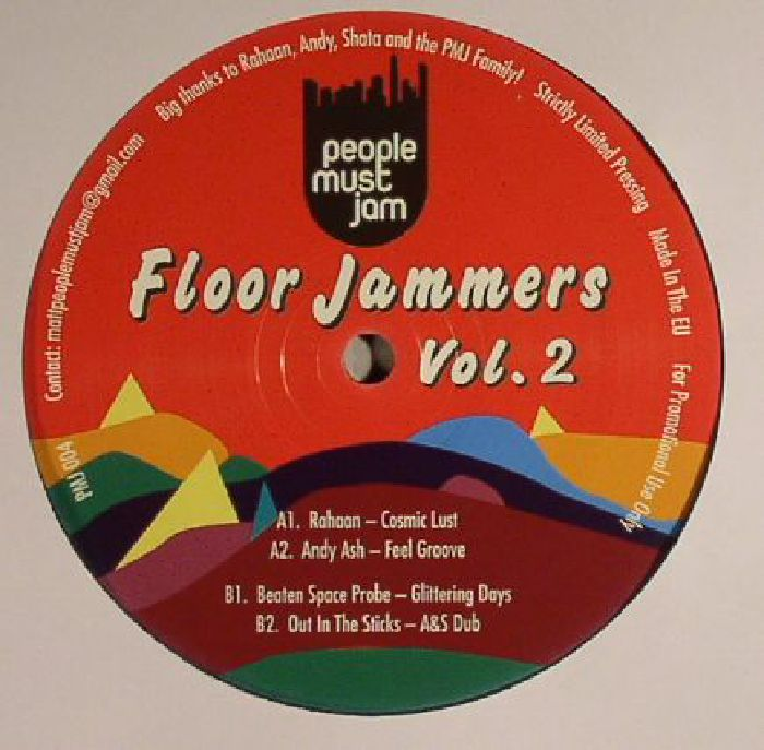 RAHAAN/ANDY ASH/BEATEN SPACE PROBE/OUT IN THE STICKS - Floor Jammers Vol 2