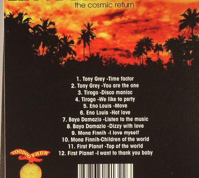 VARIOUS - Lagos Disco Inferno: The Cosmic Return Vol 2