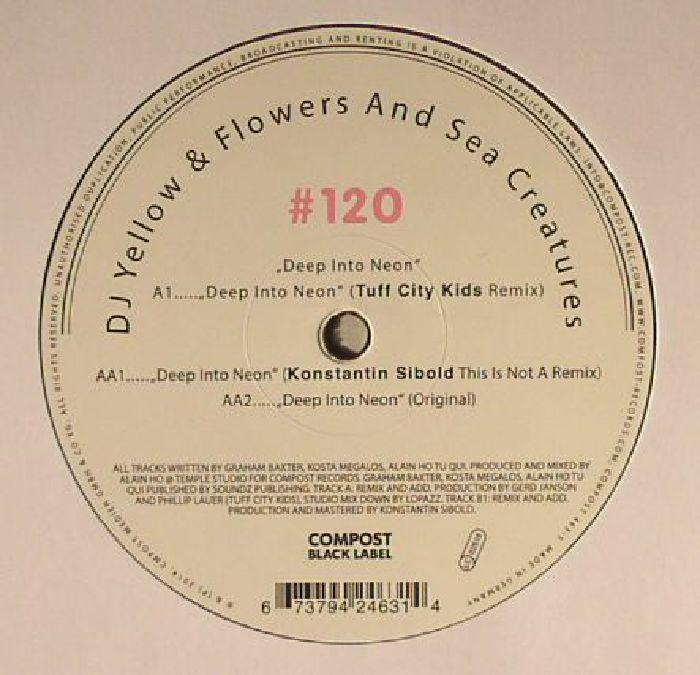 DJ YELLOW/FLOWERS & SEA CREATURES - Deep Into Neon