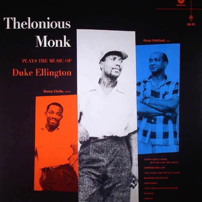 MONK, Thelonious - Plays The Music Of Duke Ellington (remastered)