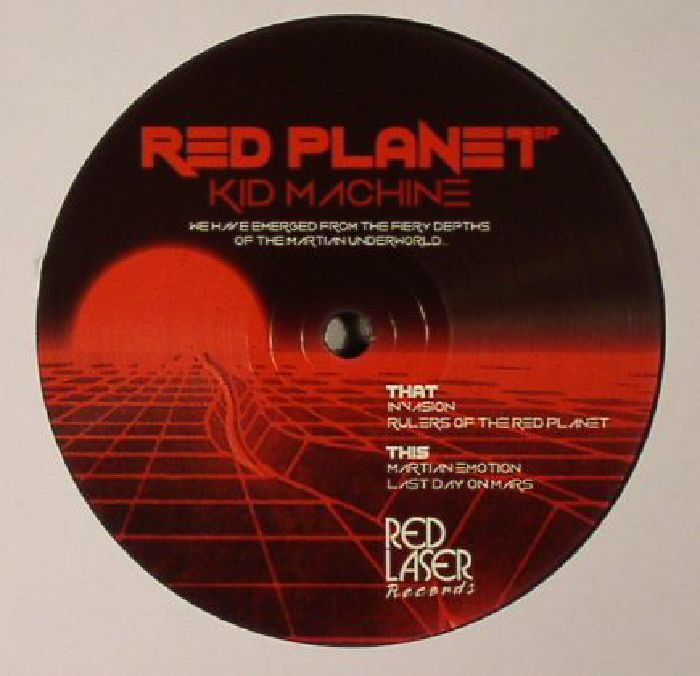 Kid Machine Red Planet Ep Vinyl At Juno Records