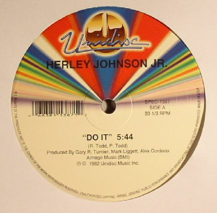 JOHNSON JR, Herley/WEST PHILLIPS/MONA RAE - Do It