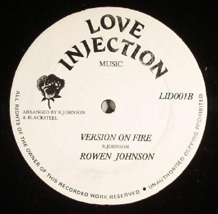 JOHNSON, Rowen - Set My Soul On Fire