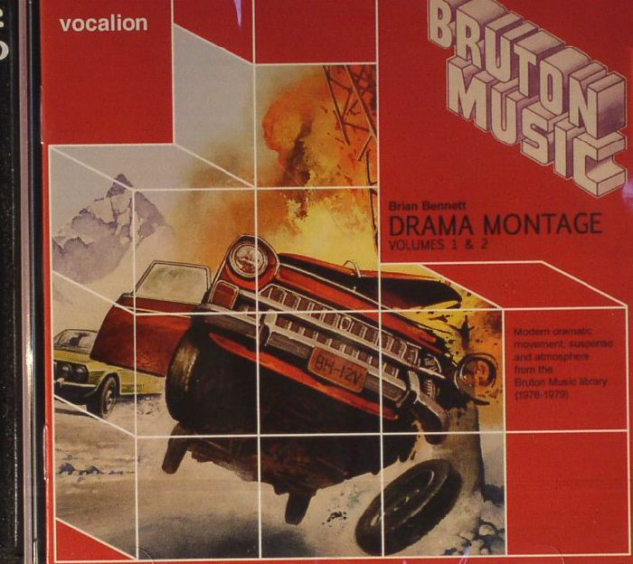 BENNETT, Brian - Drama Montage Volumes 1 & 2: Modern Dramatic Movement Suspence & Atmosphere From The Bruton Music Library 1978-1979