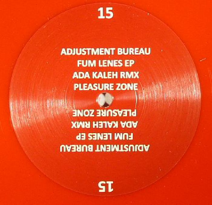 ADJUSTMENT BUREAU - Fum Lenes EP