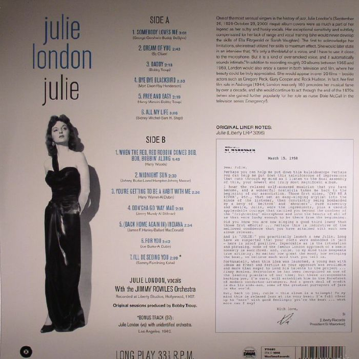 LONDON, Julie - Julie