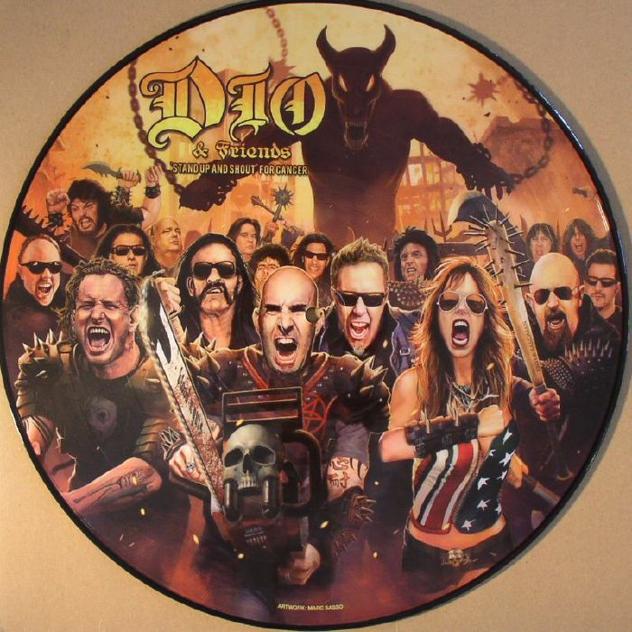 DIO & FRIENDS - Stand Up & Shout For Cancer (Record Store Day Black Friday 2014)