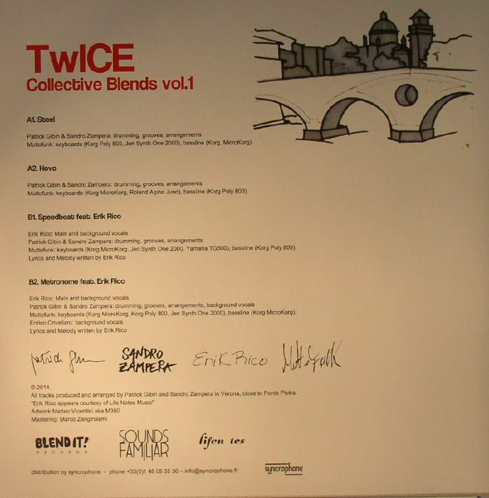 TWICE (BLEND IT!) - Collective Blends Vol 1