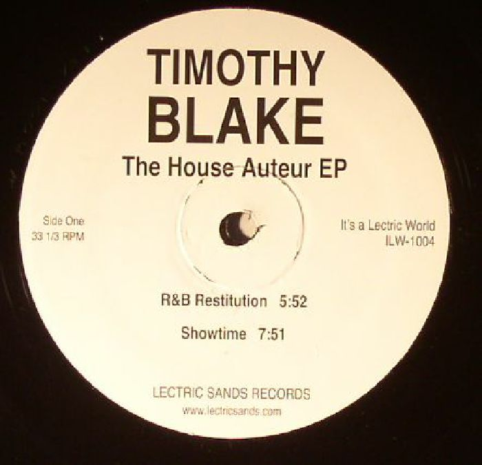 BLAKE, Timothy - The House Auteur EP