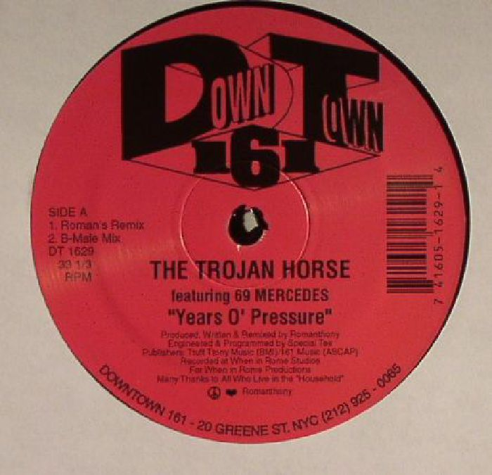 TROJAN HORSE, The feat 69 MERCEDES - Years O' Pressure :Remastered