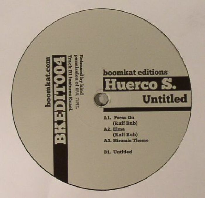 HUERCO S - Untitled