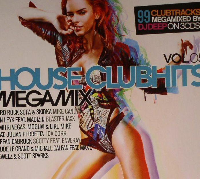 DJ DEEP/VARIOUS - House Clubhits Megamix Vol 5