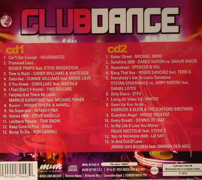 VARIOUS - The World Of: Club Dance