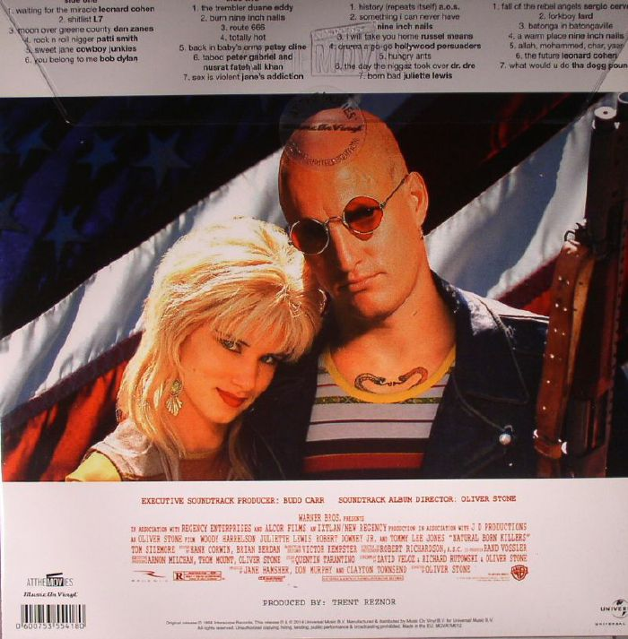 VARIOUS Natural Born Killers (Soundtrack) vinyl at Juno Records.