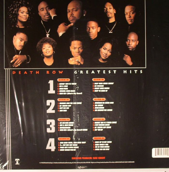 VARIOUS - Death Row: Greatest Hits (remastered)