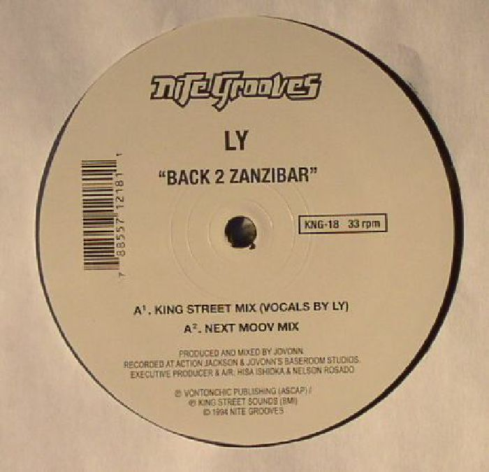 Ly back 2 zanzibar vinyl at juno records for Zanzibar house music