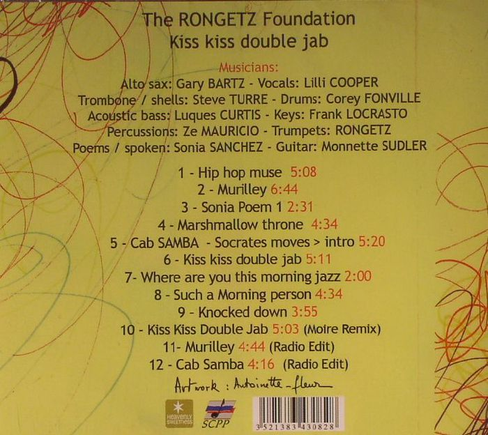 RONGETZ FOUNDATION, The - Kiss Kiss Double Jab