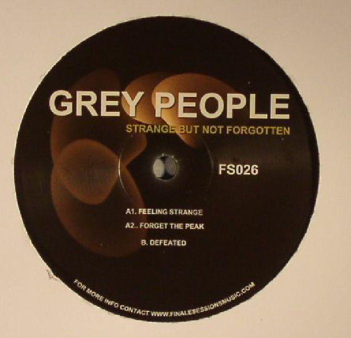 GREY PEOPLE - Strange But Not Forgotten
