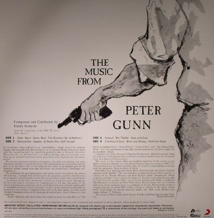 MANCINI, Henry - Peter Gunn (Soundtrack)