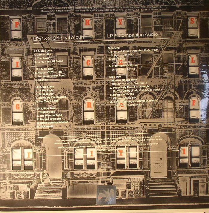 Led Zeppelin Physical Graffiti 40th Anniversary Edition