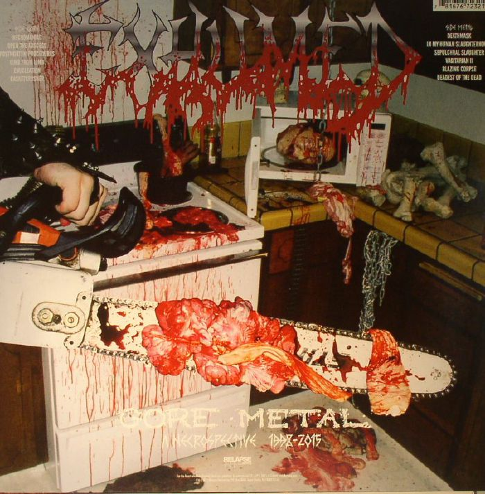 EXHUMED - Gore Metal Redux: A Necrospective 1998-2015