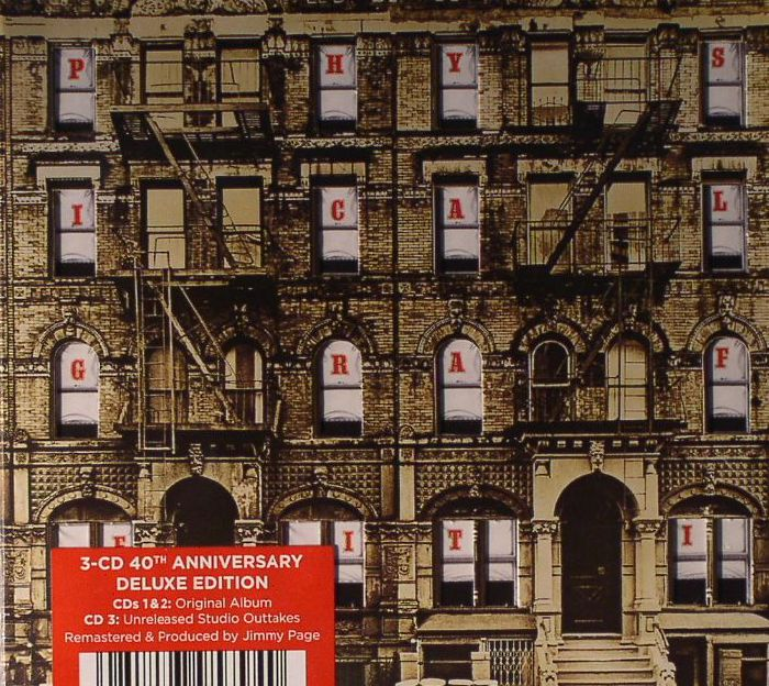 Led Zeppelin Physical Graffiti 40th Anniversary Deluxe